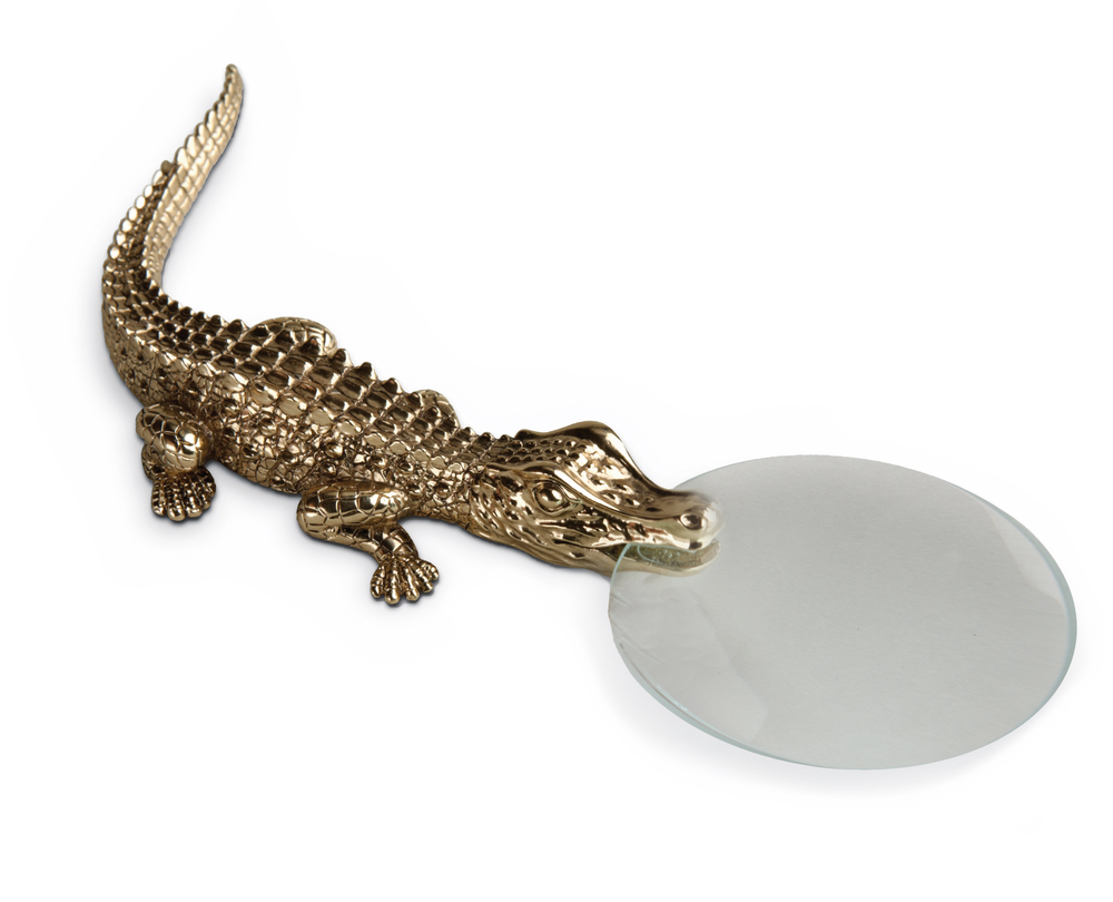 Crocodile Magnifying Glass from L-Objet C'est la VIE November 2017