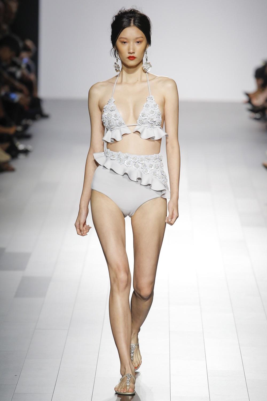 Badgley Mischka New York Fashion Week SS18