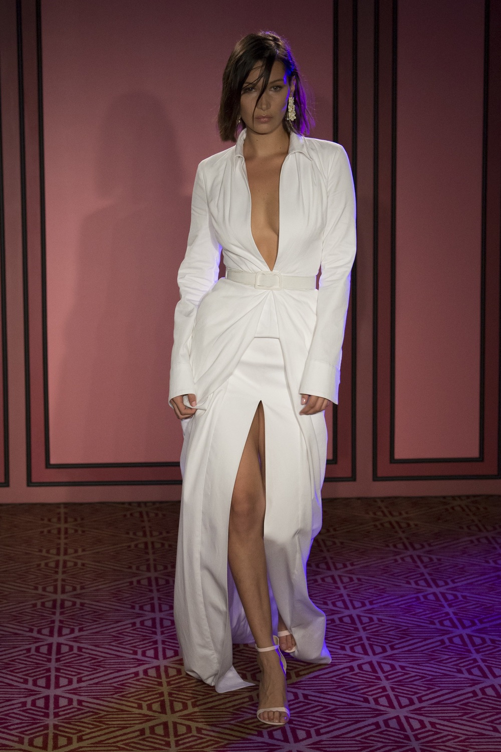 Brandon Maxwell New York Fashion Week SS18