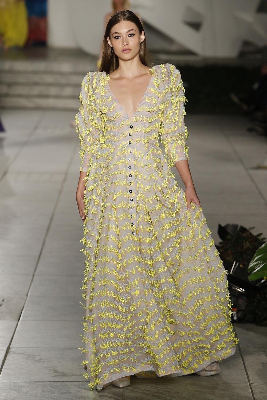 Carolina Herrera New York Fashion Week SS18