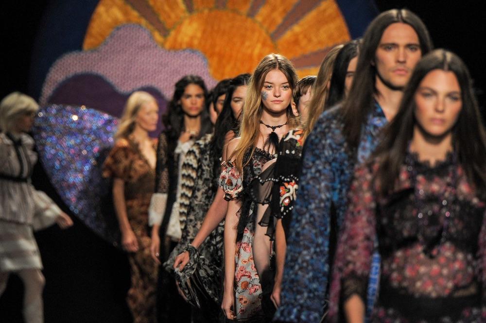 Anna Sui New York Fashion Week SS18
