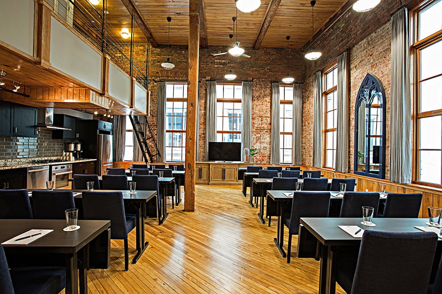 Event Space at The Restoration Hotel in Charleston, North Carolina