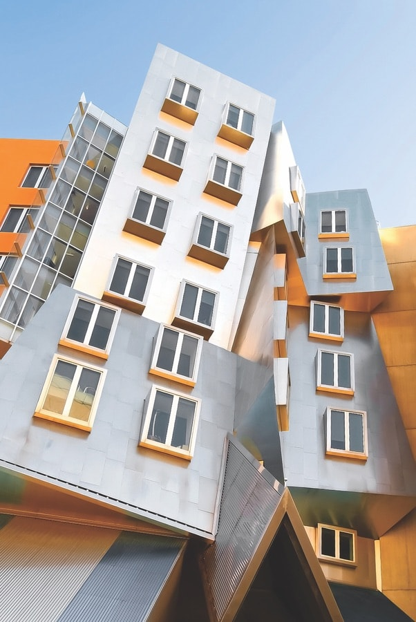 The Frank Gehry-designed Stata Center at the Massachusetts Institute of Technology.