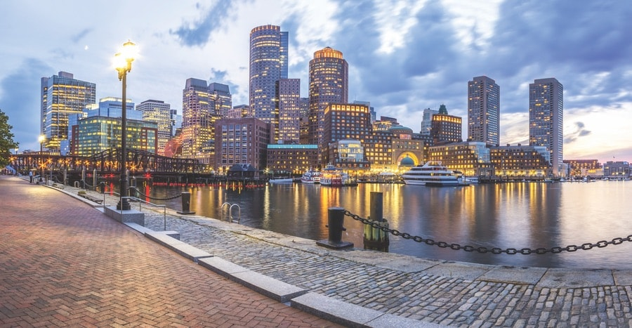 The Boston skyline offers a mix of historic and metropolitan architecture. VIE Magazine. The Sophisticate Issue