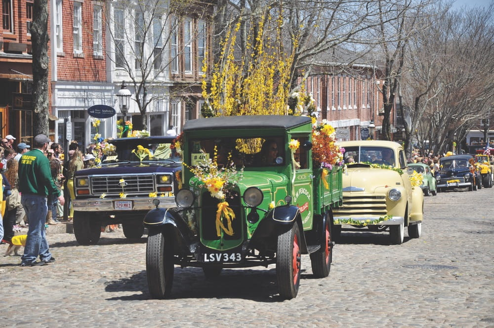 Cape Cod, Massachusetts, Nantucket, Daffodil Festival