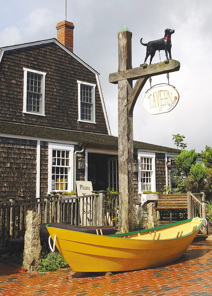Cape Cod, Massachusetts, The Black Dog, tavern, Martha's Vineyard