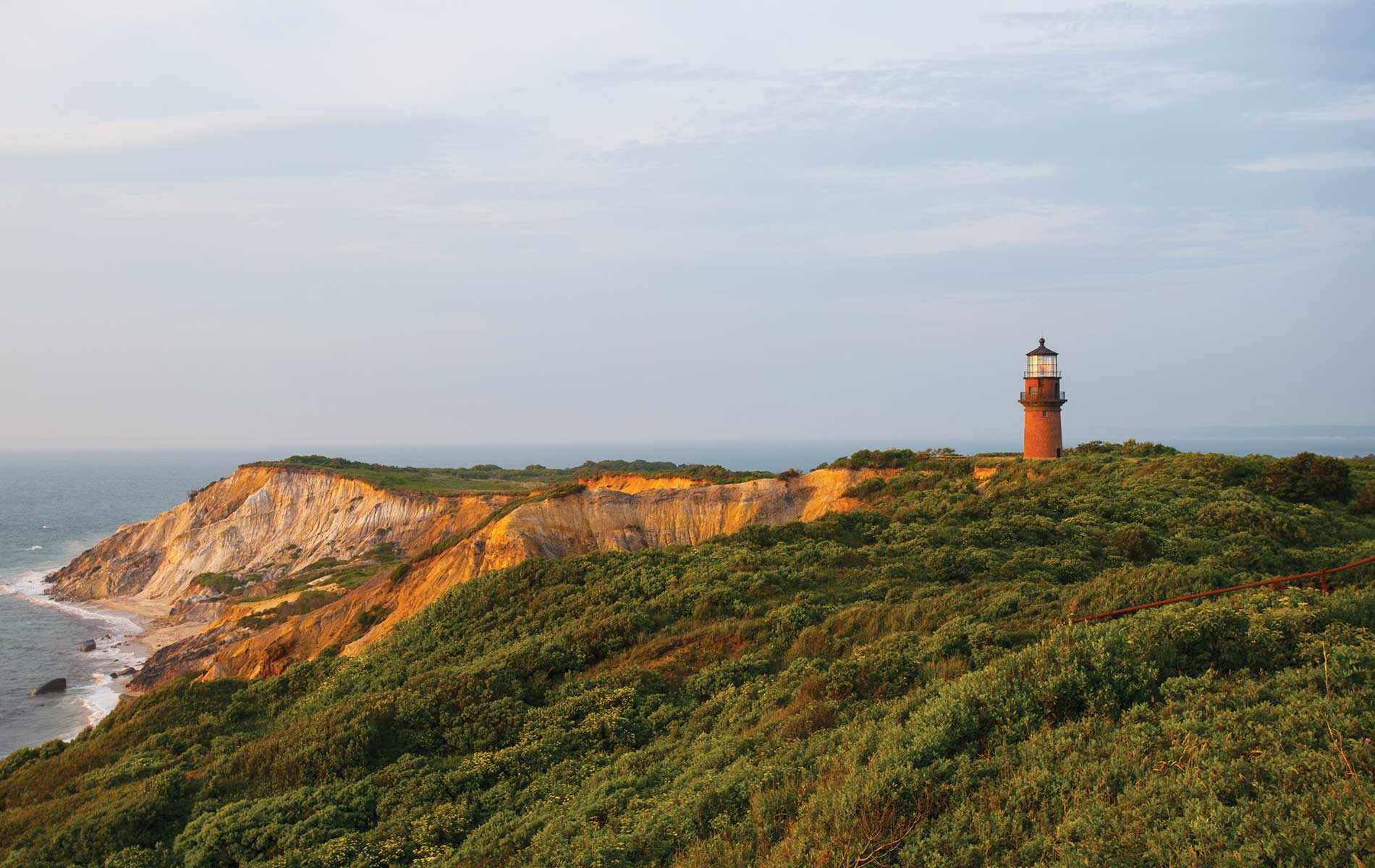 Cape Cod, Massachusetts, Gay Head Cliffs, Lighthouse, Aquinnah Beach, Martha's Vineyard