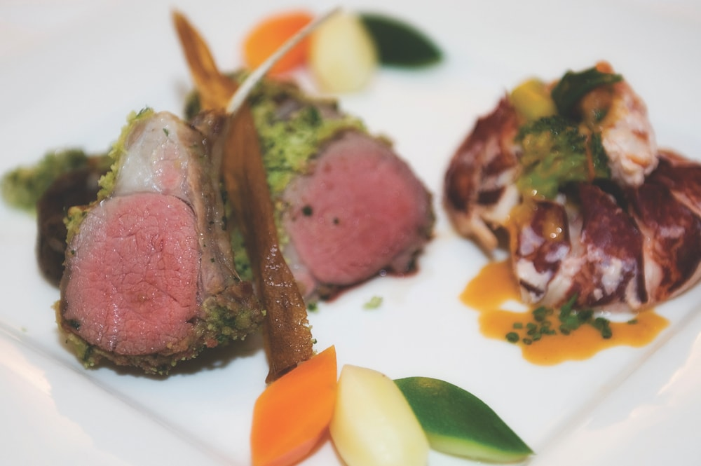 Renvyle House Hotel & Resort lamb and lobster recipe
