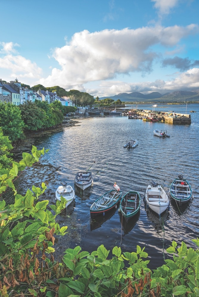 Connemara Life, Connemara, Landscapes, Roundstone Harbour, boats