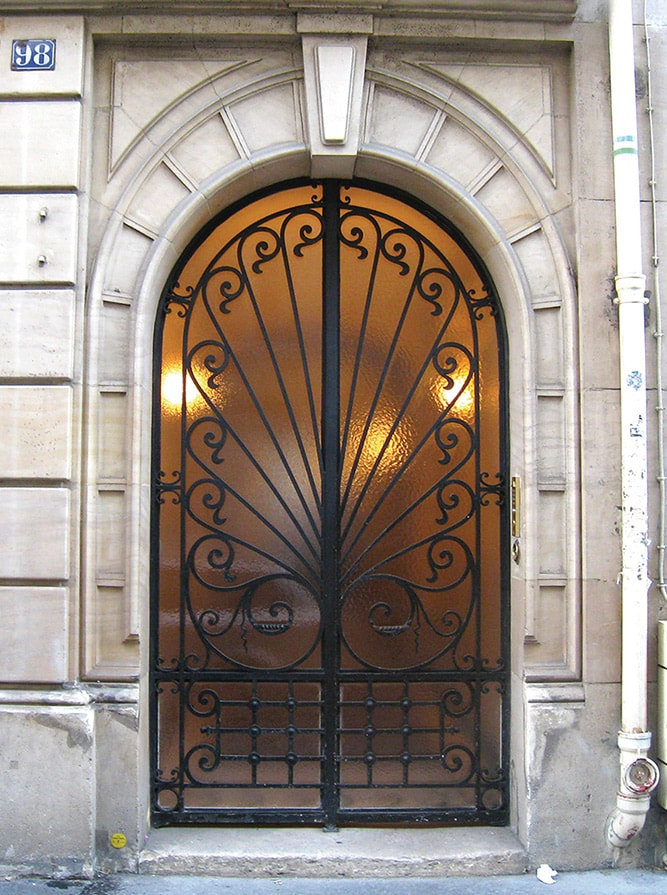Gorgeous doorway in Paris architecture Doorways of Paris by Rachel Puig