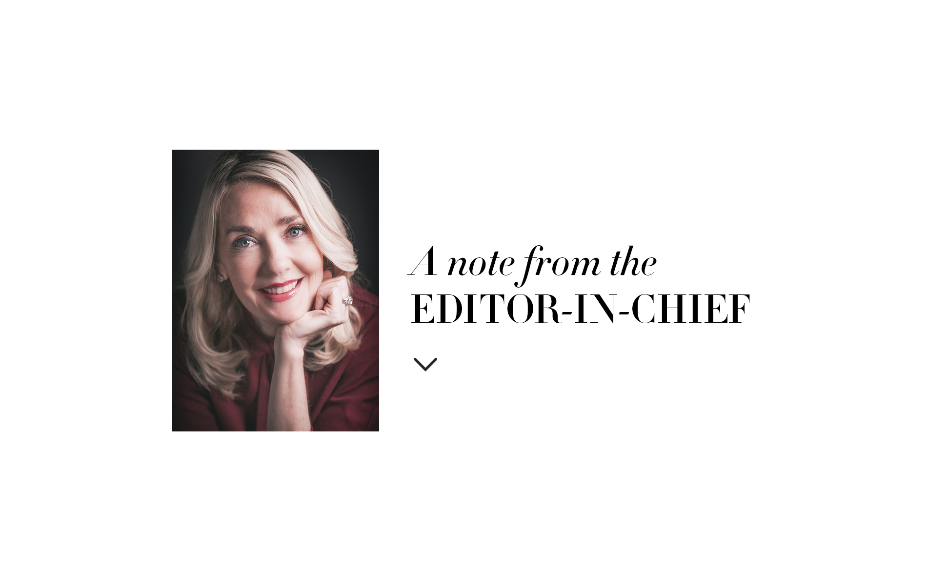 Editor in Chief Note by Lisa Burwell, December 2017 The Sophisticate issue.