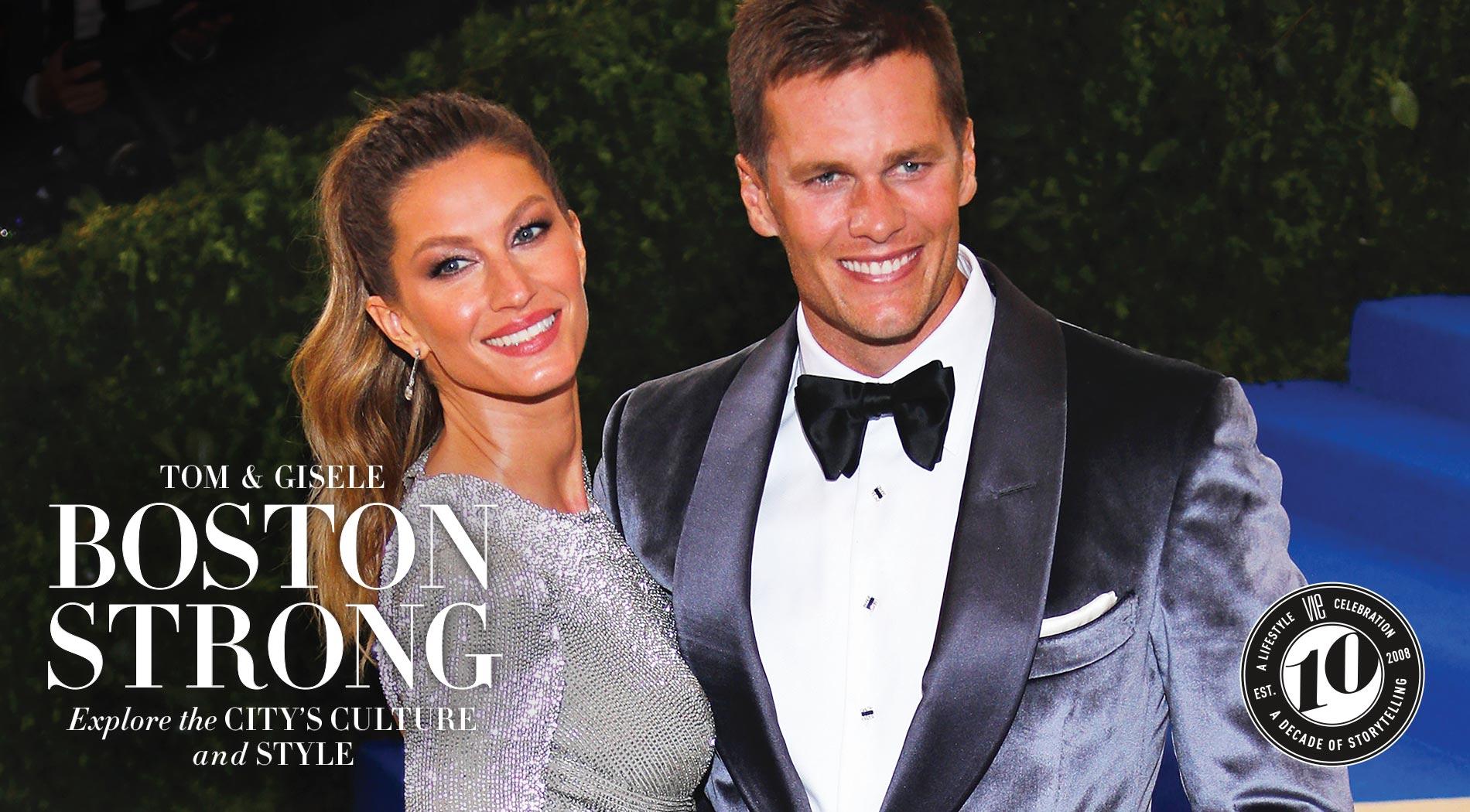VIE Magazine, The Sophisticate Issue, December 2017, Tom Brady & Gisele