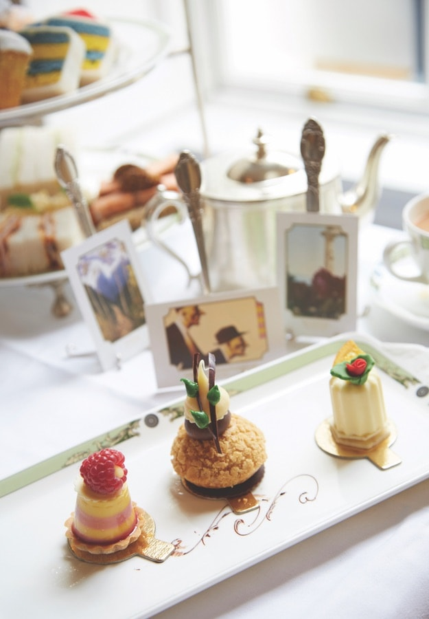 Afternoon tea and sweets at the five-star Merrion Hotel. VIE Magazine. The Sophisticate Issue