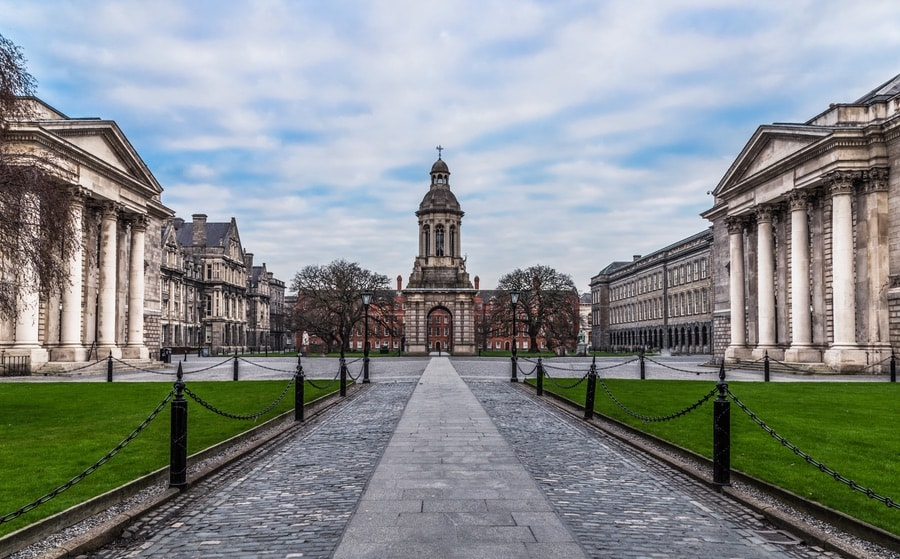 Trinity College in Dublin, Ireland. VIE Magazine. The Sophisticate Issue
