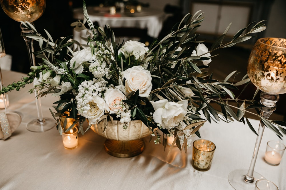 Gorgeous flower and tablescape details from the Big New Orleans Wedding