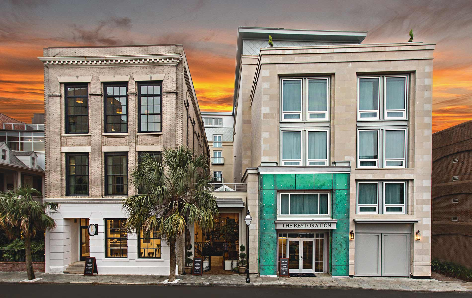 The Restoration Hotel in Charleston, South Carolina