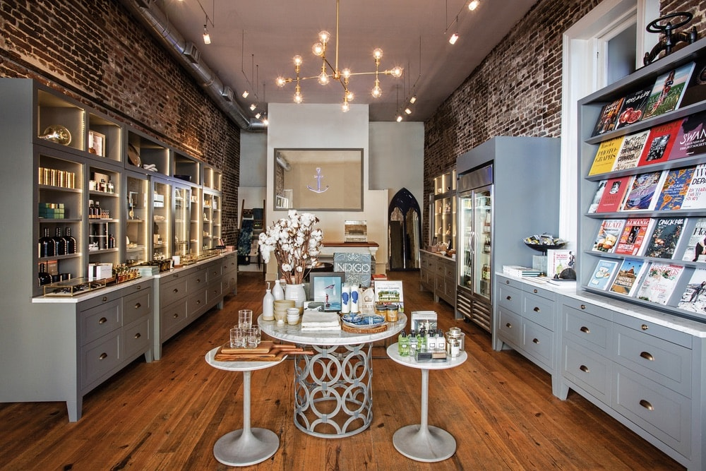 Next door, The Port Mercantile shop is the perfect stop to pick up gifts, cookbooks, jewelry and accessories, decor, and more to bring a piece of The Restoration home with you.