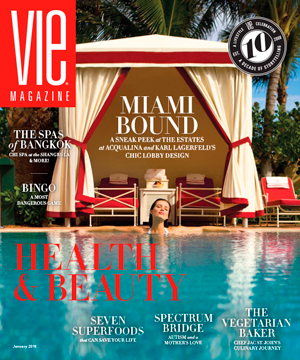 VIE Magazine - January 2018 Health & Beauty Issue