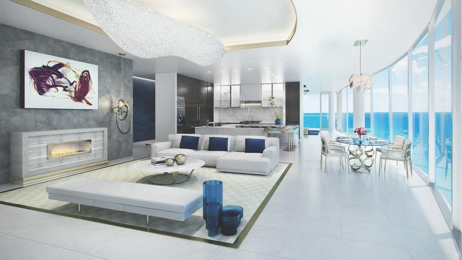 """Acqualina's new """"estates in the sky"""" in Miami Florida."""
