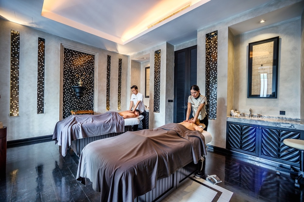 Bangkok Top Spas; Thailand; The Siam Hotel; Opium Spa; massage