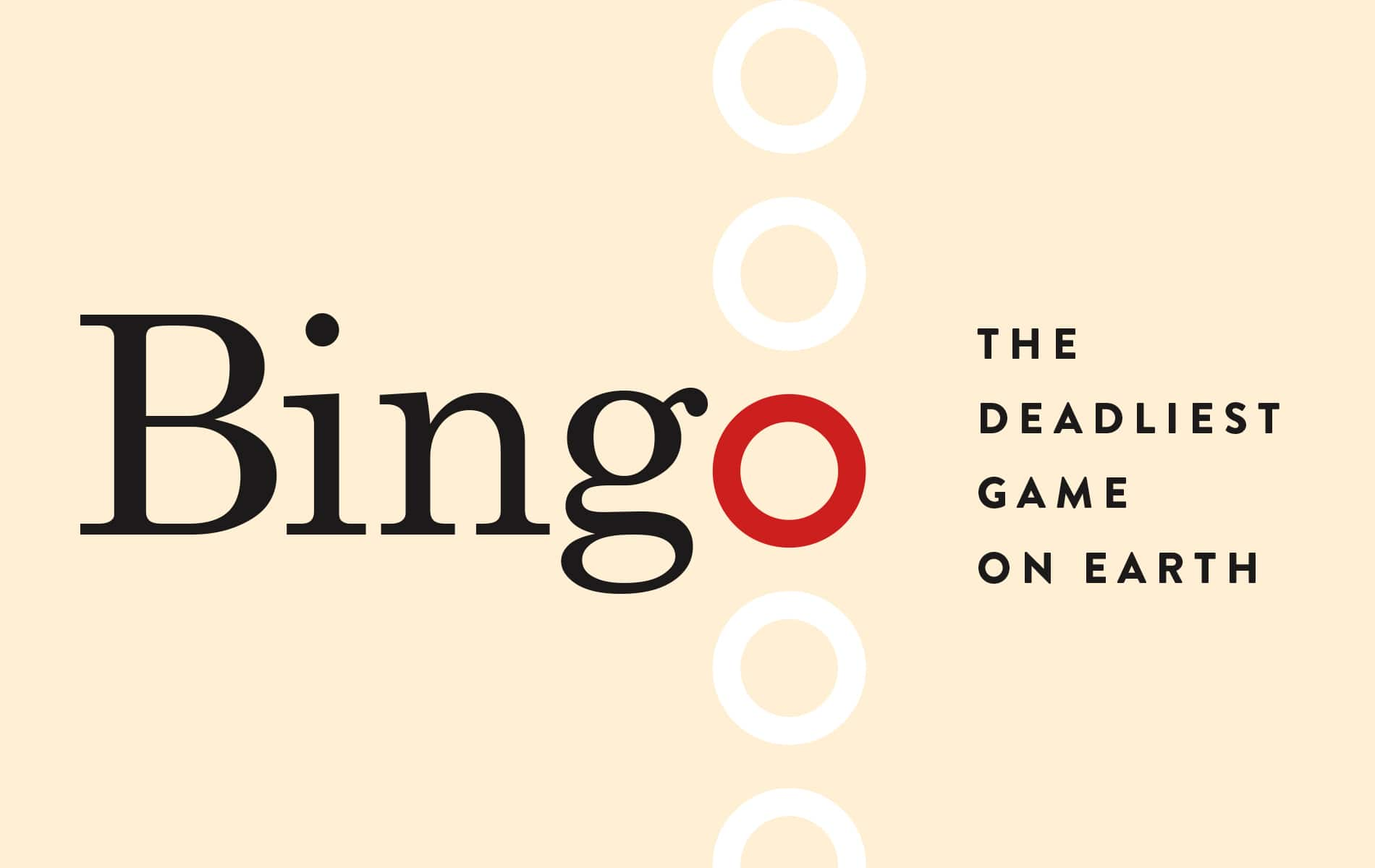Bingo The Deadliest Game on Earth Greg Cayea Humor Illustration