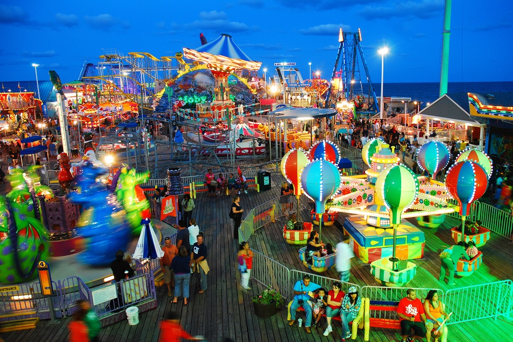 Casino Pier at Seaside Heights, New Jersey