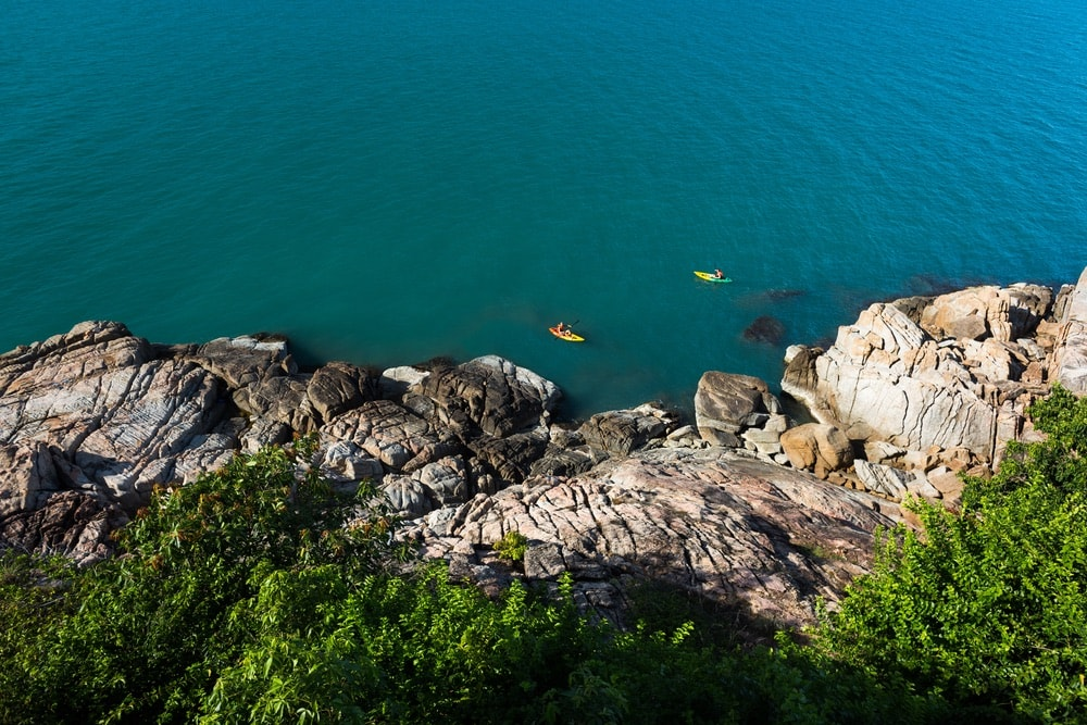 Sustainable Lifestyle in Thailand; Koh Samui; Six Senses Samui; kayaking
