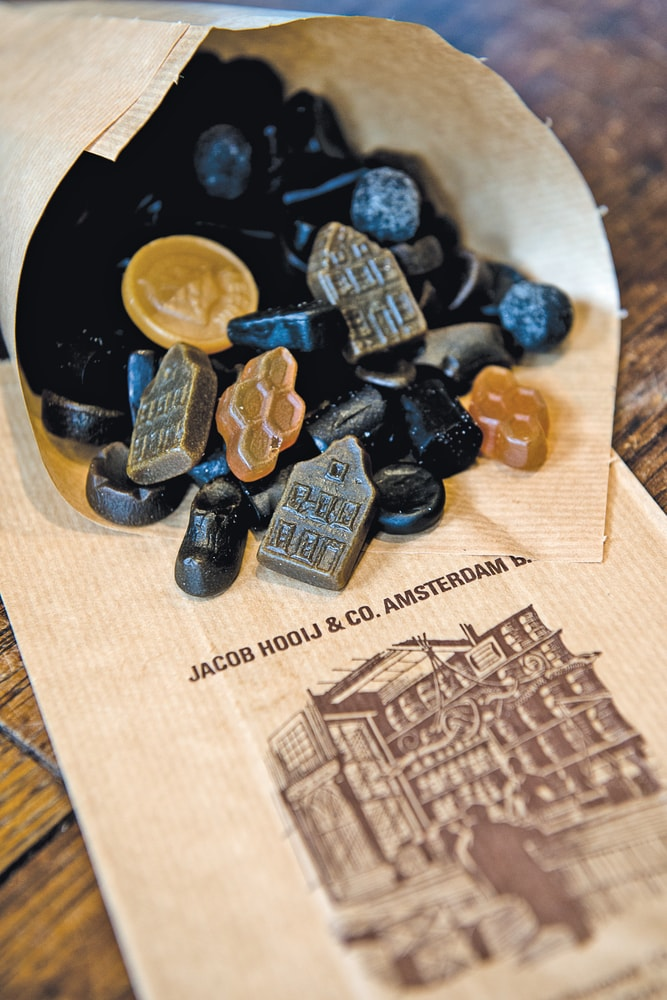 Salty and sweet Dutch licorice by Jacob Hooy & Co Amsterdam Food VIE Magazine Destination Travel 2018