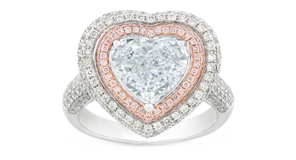 Faint Blue Diamond Heart Ring VIE Magazine Destination Travel Cest la VIE Special Valentine's Day Edition 2018
