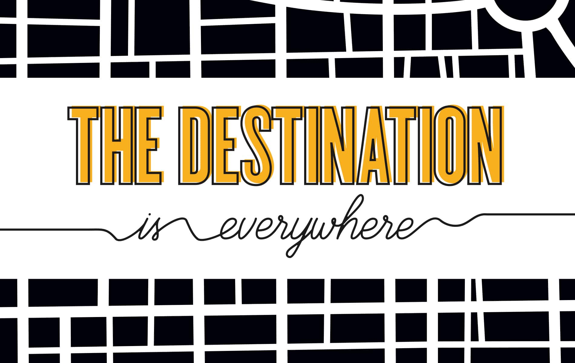 Greg Cayea, The Destination is Everywhere, VIE Magazine, Destination Travel Issue, February 2018