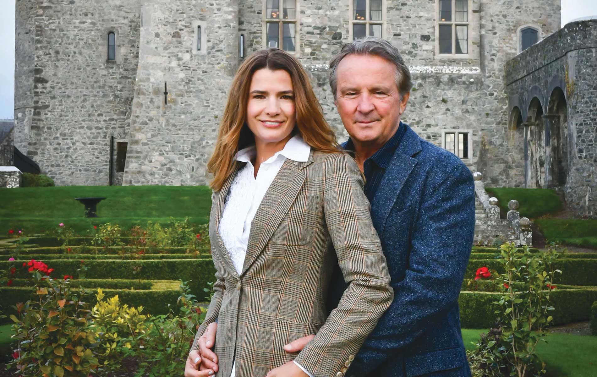 A Love Story, Christy and Jay Cashman, owners of Kilkea Castle in County Kildare, Ireland