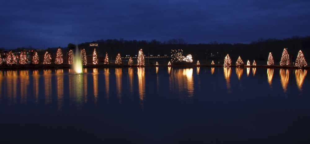 Christmas getaways, McAdenville, North Carolina, McAdenville North Carolina