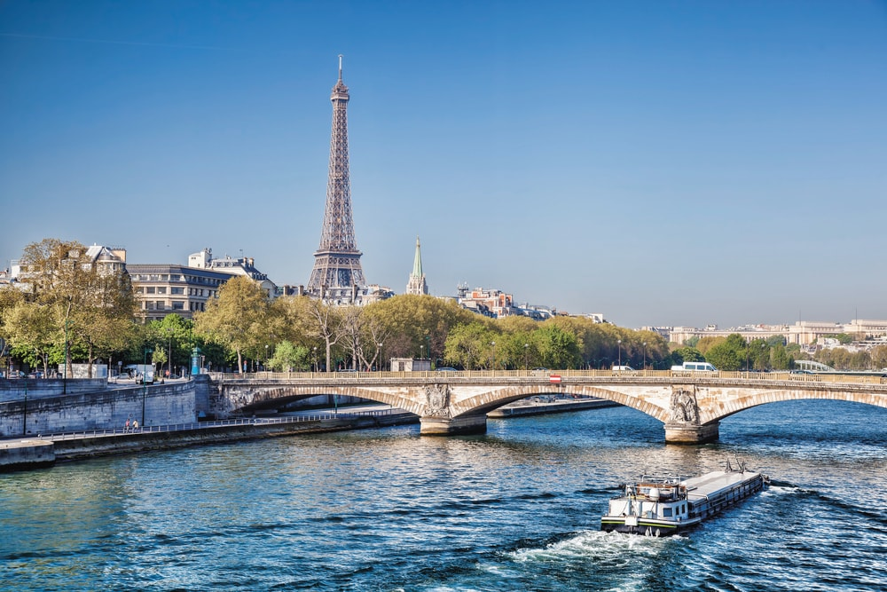 River Cruising in Europe with a view of the Eiffel Tower VIE Magazine Destination Travel