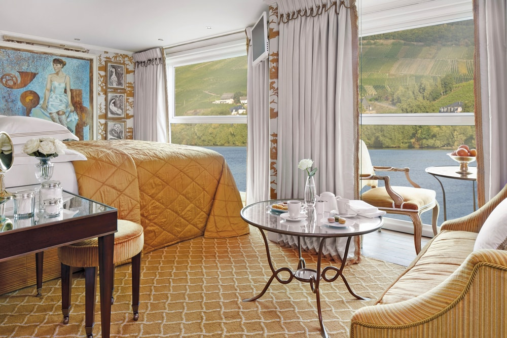 Suite on the S.S. Catherine VIE Magazine Destination Travel