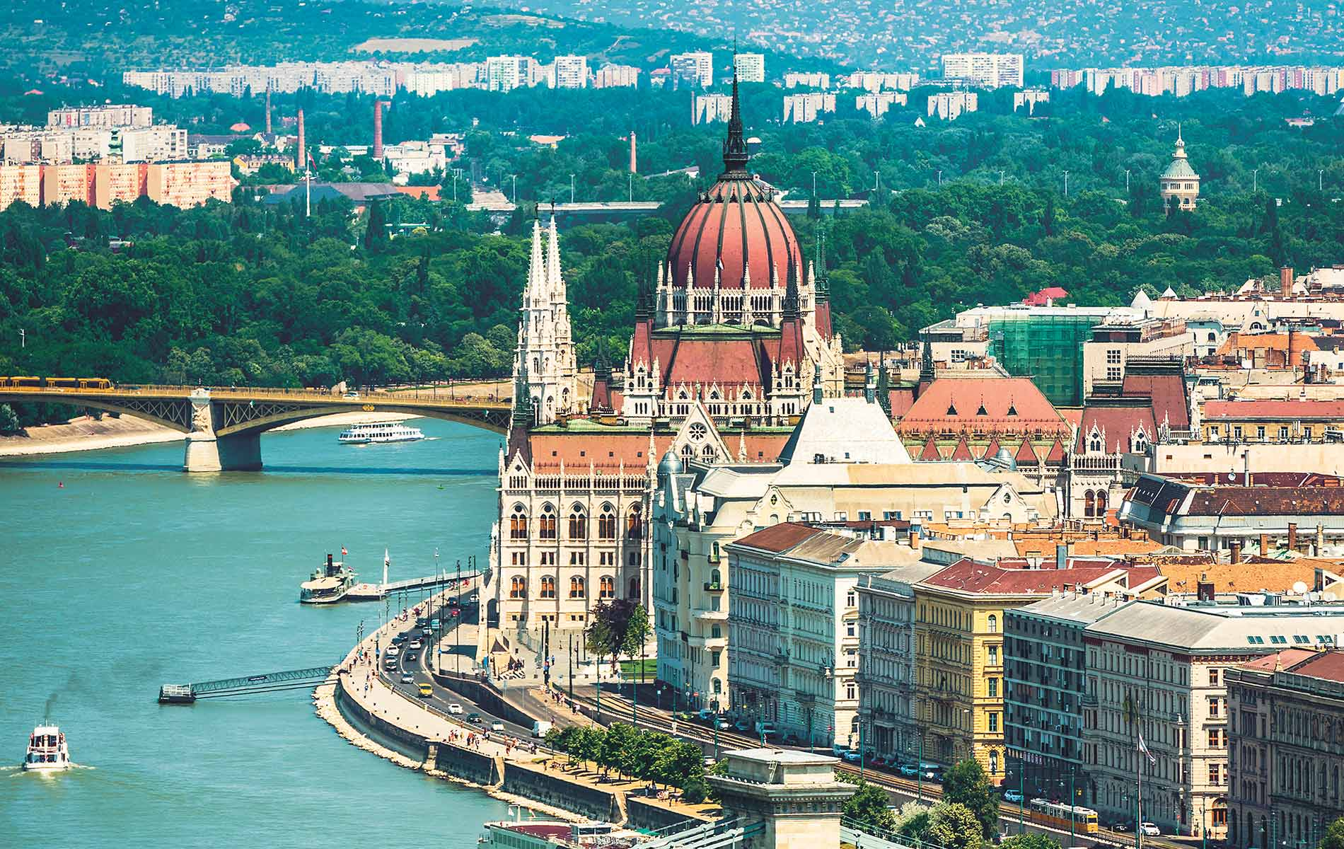 River cruising on the Danube River in Budapest VIE Magazine Destination Travel