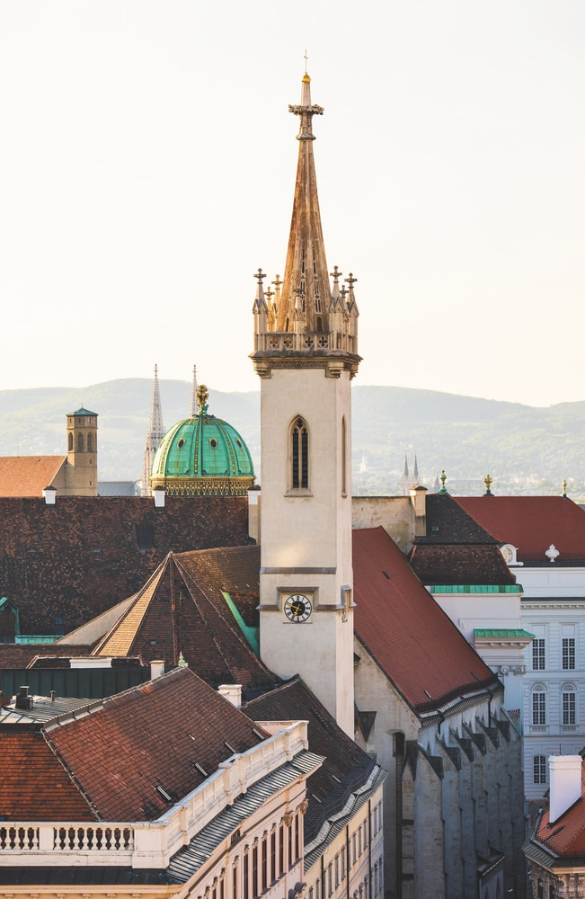 Views from the rooftops of Vienna, Austria VIE Magazine Destination Travel 2018