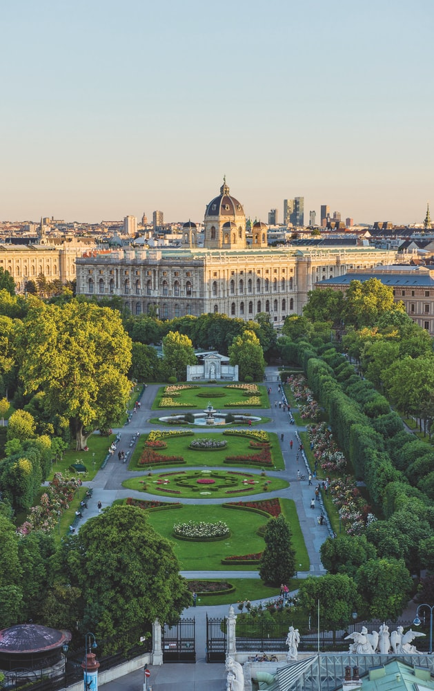 Volksgarten and the Naturhistorisches Museum in Vienna, Austria VIE Magazine Destination Travel 2018