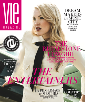 VIE Magazine - The Entertainers Issue - March 2018