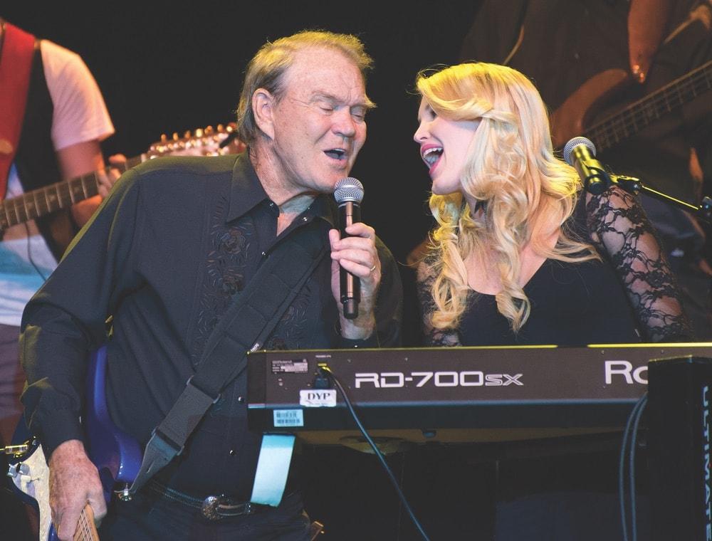 Ashley Campbell; Glen Campbell; 2012 Goodbye Tour; Albuquerque, New Mexico