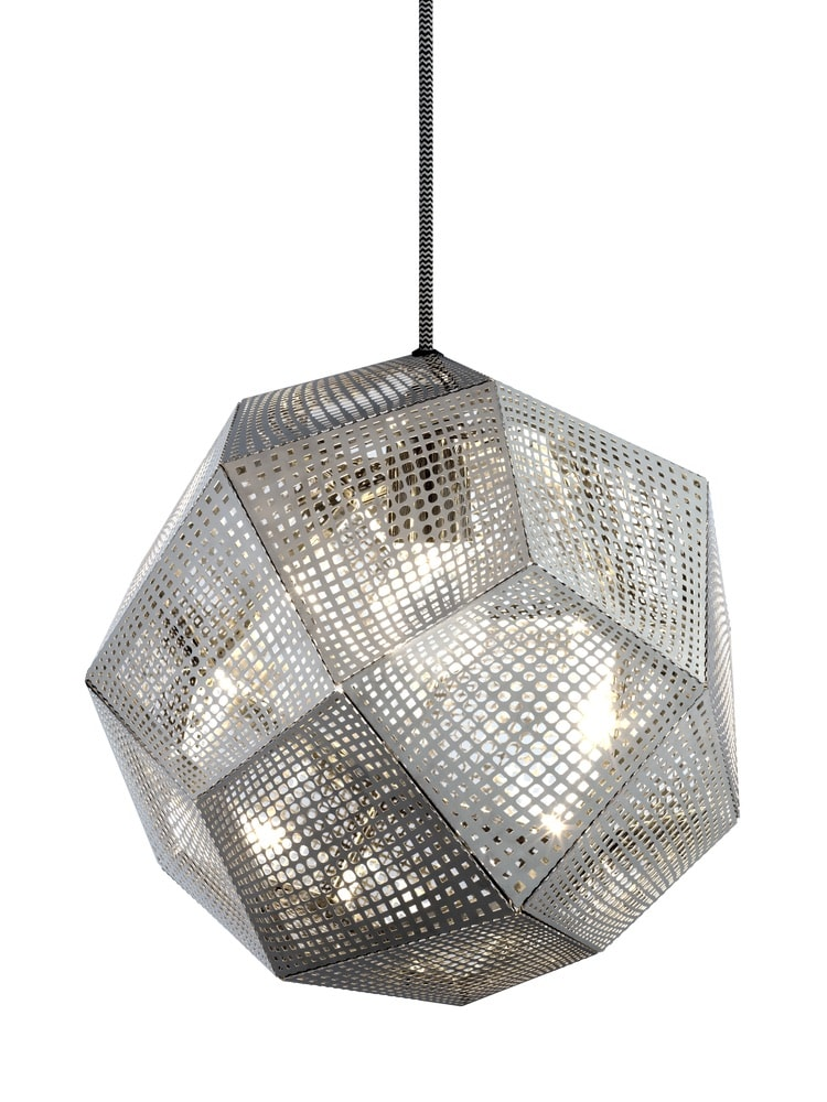 Tom Dixon Etch Pendant Steel