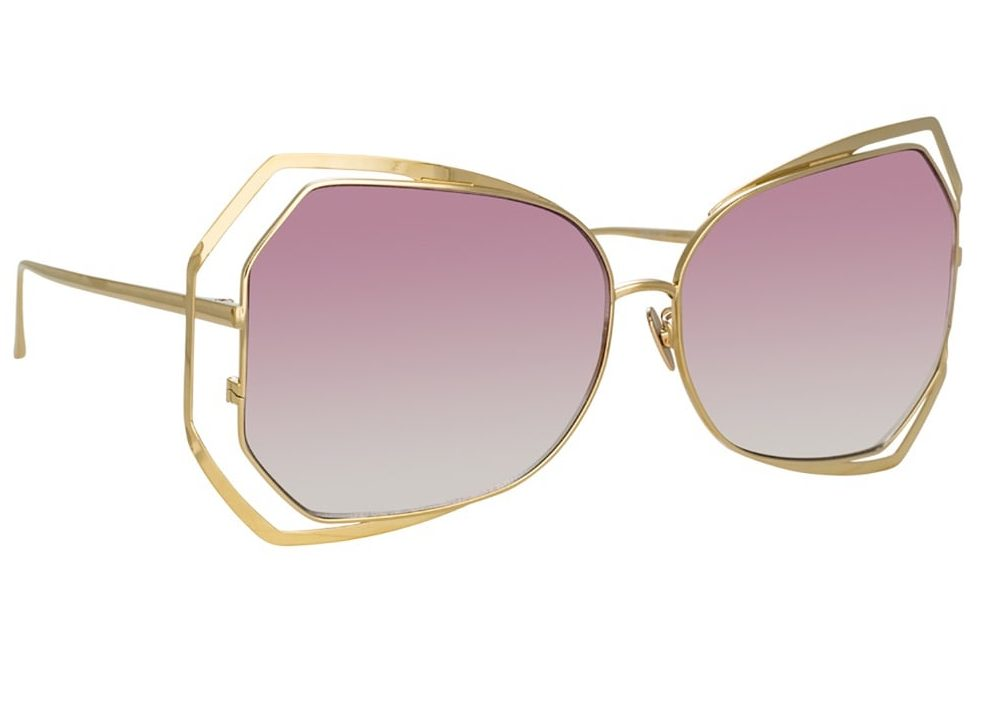 Linda Farrow 695 C8 Oversized Sunglasses