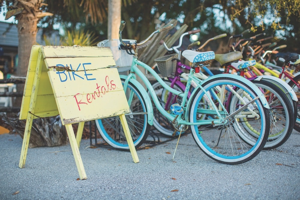 Cola 2 Cola; Travel Guide; Northwest Florida's Gulf Coast; Emerald Coast; Mexico Beach; bike rentals