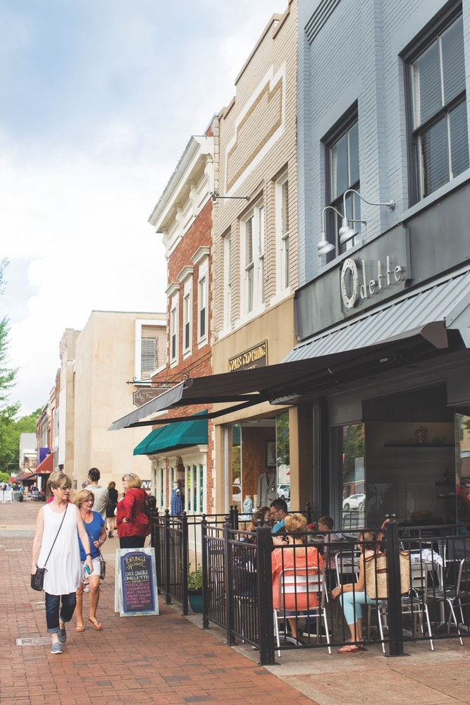 Florence, Alabama; downtown Florence; Odette