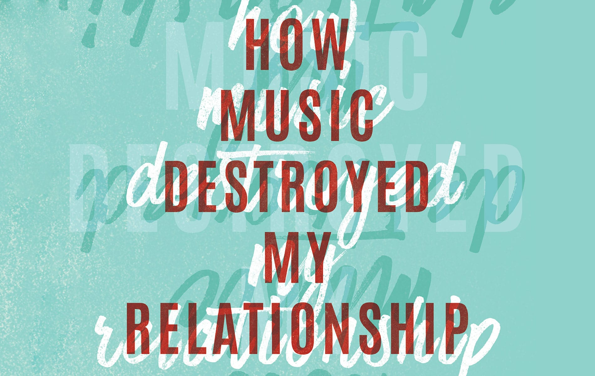 How Music Destroyed My Relationship Greg Cayea VIE Magazine Entertainers Issue March 2018