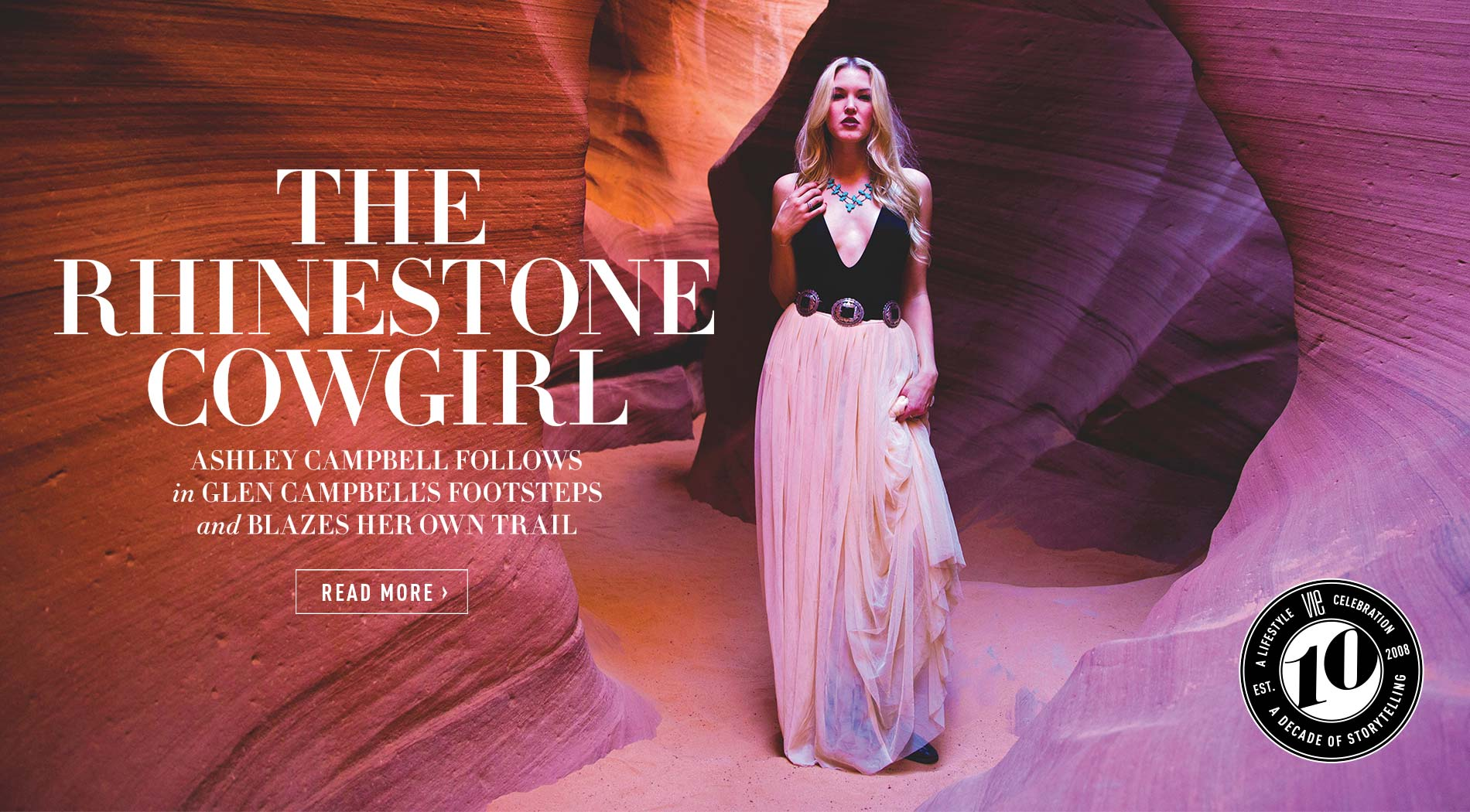 VIE Magazine - The Entertainers Issue - March 2018 - Ashley Campbell Blazes Her Own Trail