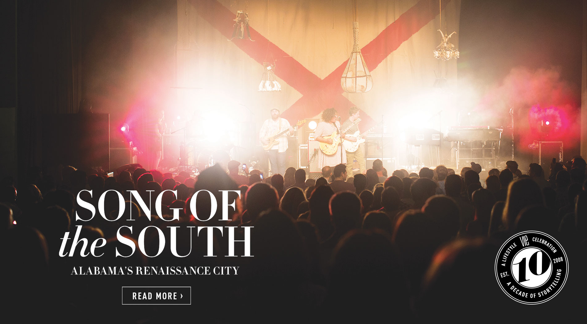 VIE Magazine - The Entertainers Issue - March 2018 - Song of the South - Alabama's Renaissance City