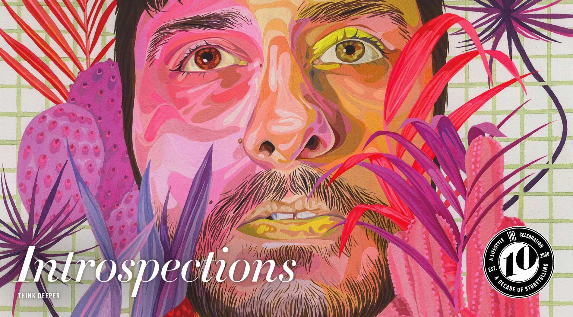 VIE Magazine - The Entertainers Issue - March 2018 - Introspections