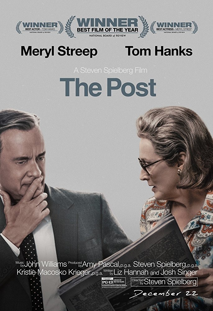 oscar nominee best picture the post