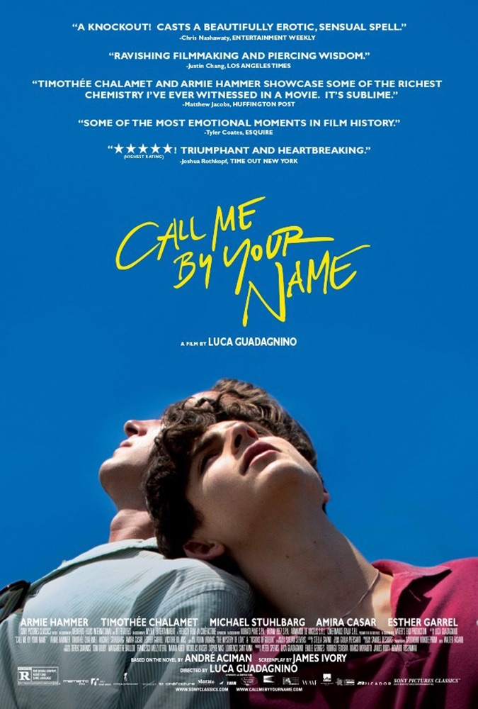 oscar nominee best picture call me by your name