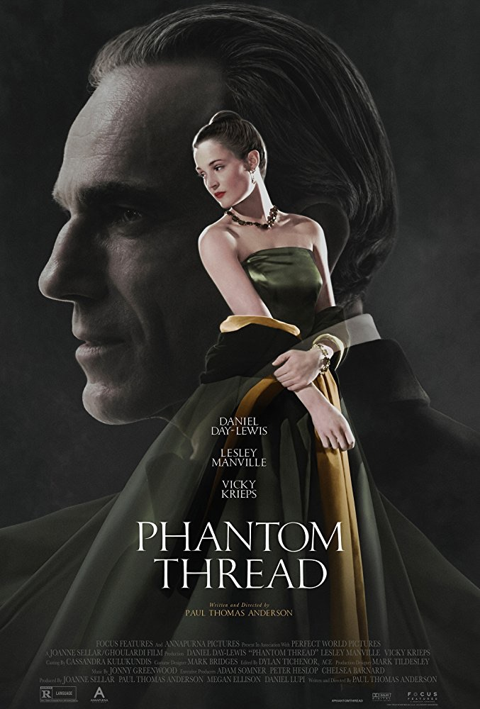 oscar nominee best picture phantom thread